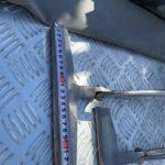 一文字の外壁の出隅の型と工具